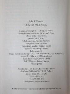 antikvární kniha Odveď mě domů, 2013