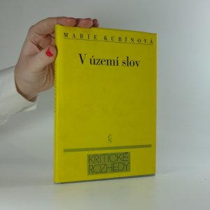 náhled knihy - V území slov. k dorozumívacímu systému lyrické poezie