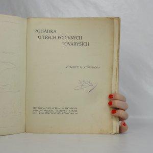 antikvární kniha Pohádka o třech podivných tovaryších, 1917