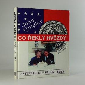 náhled knihy - Co řekly hvězdy: Astrologie v Bílém domě