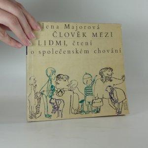 náhled knihy - Člověk mezi lidmi, čtení o společenském chování