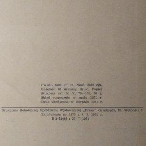 antikvární kniha Zarys technologii produktów owocowych i warzywnych (I, II), 1951