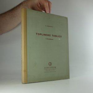 náhled knihy - Toplinske tablice. i dijagrami