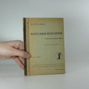 náhled knihy - Rostlinná biochemie
