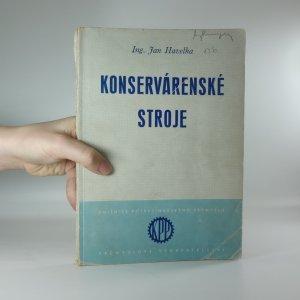 náhled knihy - Konservárenské stroje