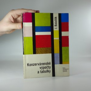 náhled knihy - Konzervárenské výpočty a tabulky
