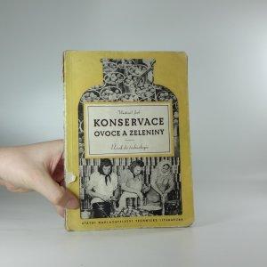 náhled knihy - Konservace ovoce a zeleniny