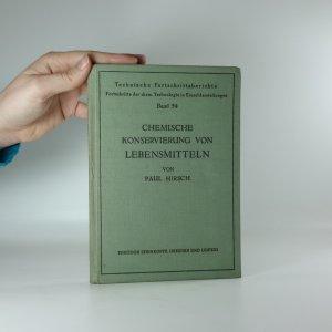 náhled knihy - Chemische Konservierung von Lebensmitteln