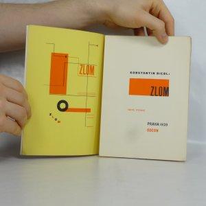 antikvární kniha Zlom : [kniha veršů : 1923-1928], 1928