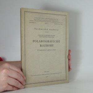 náhled knihy - Polarografické rozbory. Technické rozbory. Díl I. Kapitola XII.