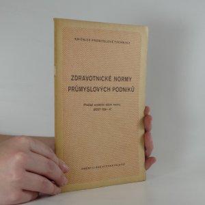 náhled knihy - Zdravotnické normy průmyslových podniků. Překl. sovět. st. normy GOST 1324-47