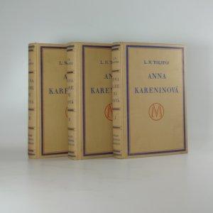 náhled knihy - Anna Kareninová. Komplet (3 díly ve třech svazcích)