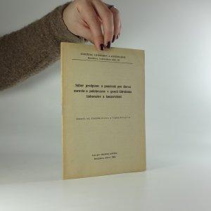 náhled knihy - Súbor predpisov a pomôcok pre dovoz surovín a polotovarov v gescii Združenia liehovarov a konzervární