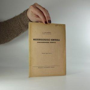 náhled knihy - Mikrobiologická kontrola konservárenského průmyslu