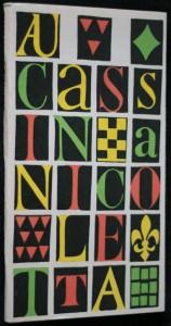 náhled knihy - Aucassin a Nicoletta