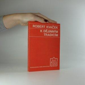 náhled knihy - K dějinným tradicím