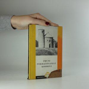 náhled knihy - První pokračovatelé Kosmovi