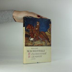 náhled knihy - Florentské letopisy