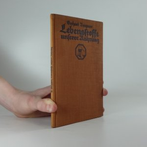 náhled knihy - Lebensstoffe unserer Nahrung