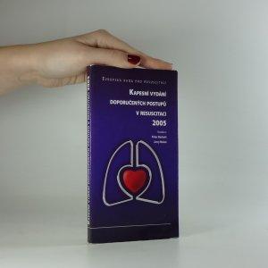 náhled knihy - Kapesní vydání doporučených postupů v resuscitaci 2005