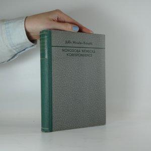 náhled knihy - Novodobá německá korespondence. Soukromá, obchodní, úřední
