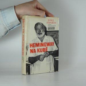 náhled knihy - Hemingway na Kubě
