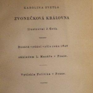 antikvární kniha Zvonečková královna, 1940