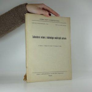 náhled knihy - Laboratorní cvičení z technologie neúdržných potravin