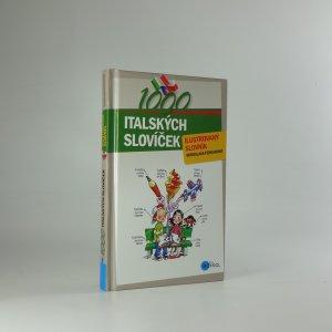 náhled knihy - 1000 italských slovíček. Ilustrovaný slovník.