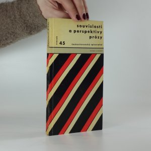 náhled knihy - Souvislosti a perspektivy prózy