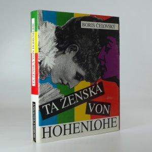 náhled knihy - Ta ženská von Hohenlohe