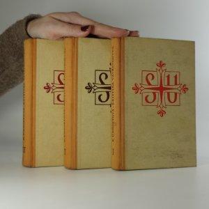 náhled knihy - Kristina Vavřincovna. (3 svazky, komplet)
