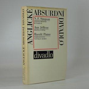 náhled knihy - Anglické absurdní divadlo