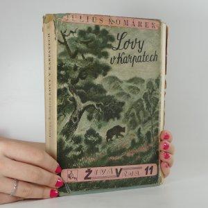 náhled knihy - Lovy v Karpatech : vzpomínky zoologovy