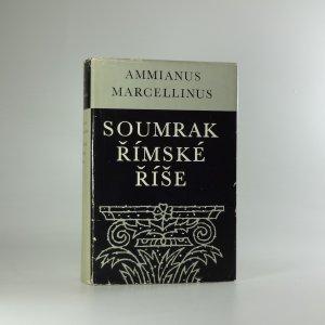 náhled knihy - Soumrak římské říše