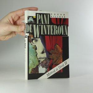 náhled knihy - Paní de Winterová. 2 díl.