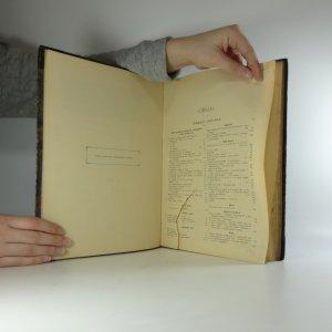 antikvární kniha Lovecký obzor. Roční III., 1900