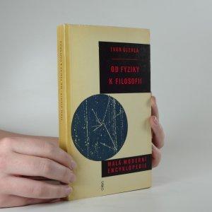 náhled knihy - Od fyziky k filosofii