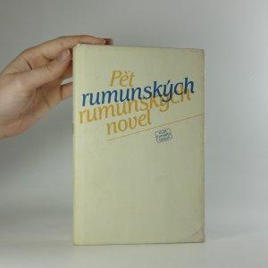 náhled knihy - Pět rumunských novel
