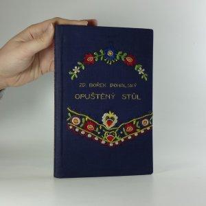 náhled knihy - Opuštěný stůl