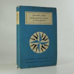 náhled knihy - Eskamotér Josef a jiné prózy