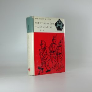 náhled knihy - Osudy dobrého vojáka Švejka I. - IV.