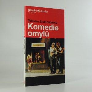 náhled knihy - Komedie omylů