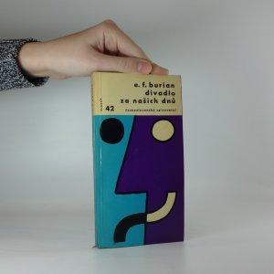 náhled knihy - Divadlo za našich dnů