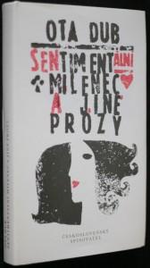 náhled knihy - Sentimentální milenec a jiné prózy