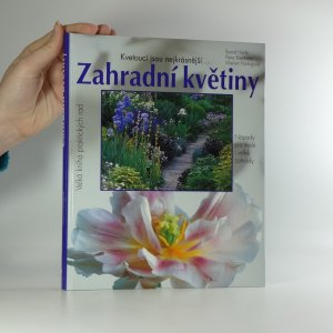 náhled knihy - Zahradní květiny
