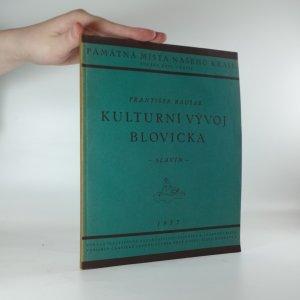 náhled knihy - Kulturní vývoj Blovicka