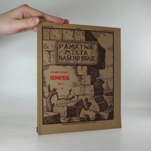 náhled knihy - Památná místa našeho kraje. Nepomuk