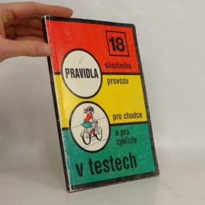 náhled knihy - Pravidla silničního provozu pro chodce a pro cyklisty v testech
