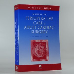 náhled knihy - Manual of perioperative care in adult cardiac surgery